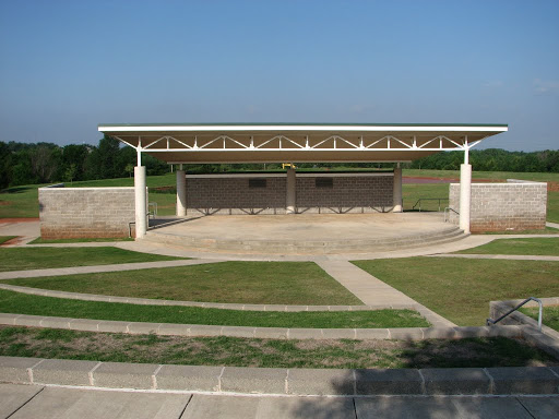 Upstage Theatre Performing Arts Studio - Edmond, OK | Mitch Park Amphitheatre